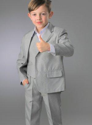 costume enfant gris clair pas cher