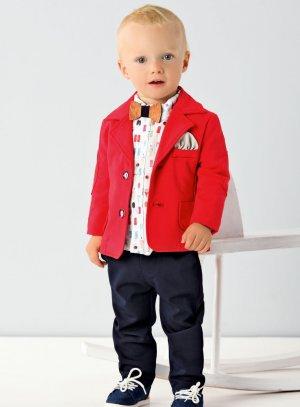 costume bébé rouge