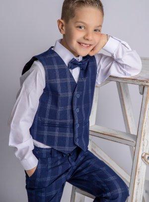 Costume garçon Mario pantalon pour mariage ou cérémonie