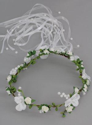 couronne fleurs pour mariage ou communion