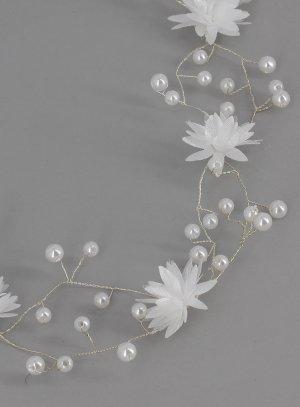 couronnes et diadèmes blanc