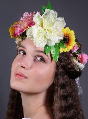 couronne de fleurs thaitienne