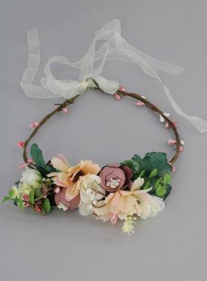 Couronne de fleurs mariage cérémonie communion