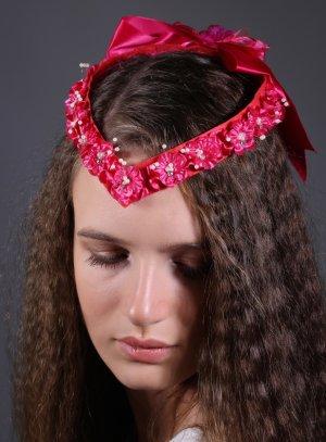 univers coiffure rose fushia