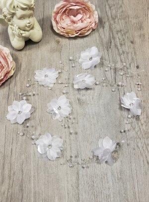 couronne de fleur souple pour mariage ou guirlande à tresser coiffure de mariée