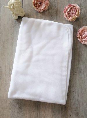couverture de baptême blanche polaire