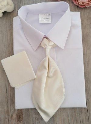 Cravate lavallière enfant ivoire