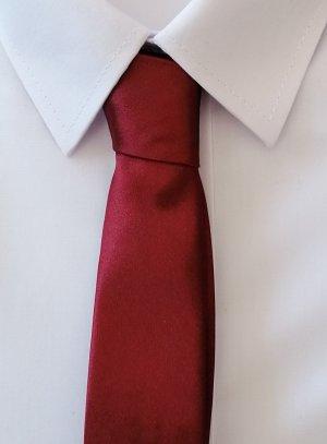 cravate enfant noeud à faire bordeaux