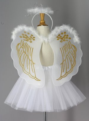 robe de baptême or