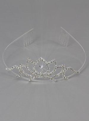 couronnes et diadèmes gris argent