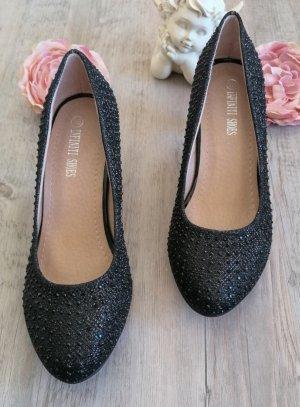 chaussures cérémonie fille noir