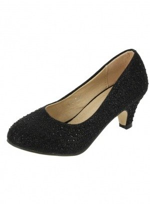 chaussures de cérémonie fille noir
