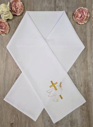 """Etole de communion """" Croix et colombe"""" or"""