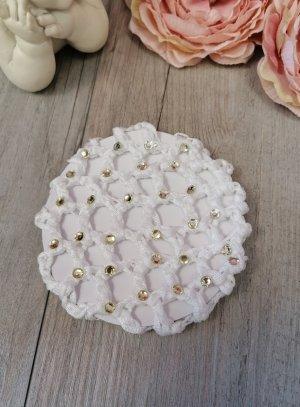 accessoires chignon blanc