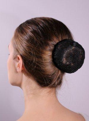 accessoires chignon noir