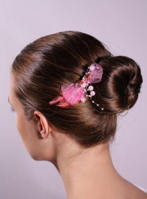 fin de serie coiffure rose