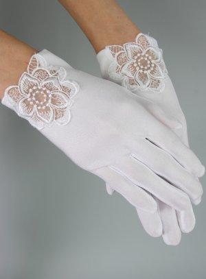gant blanc enfant mariage communion