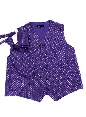 fin de serie garcon violet