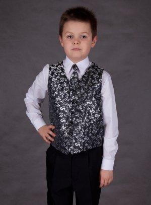 gilet, veste et ceinture de cortège noir