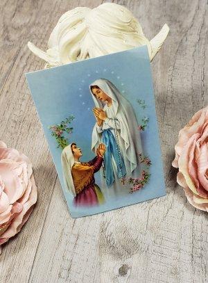 icone de la Vierge avec prière