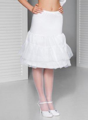 jupon court blanc