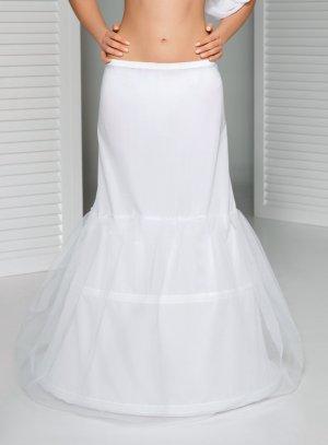 jupon mariage 2 cerceaux blanc