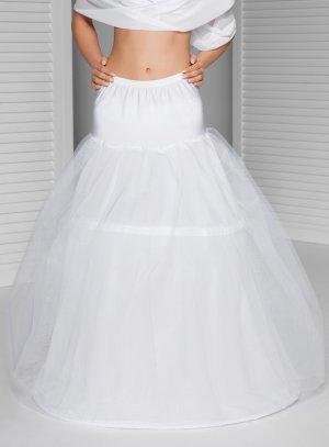 jupon de mariée blanc