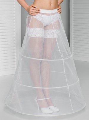 jupon mariage 3 cerceaux blanc