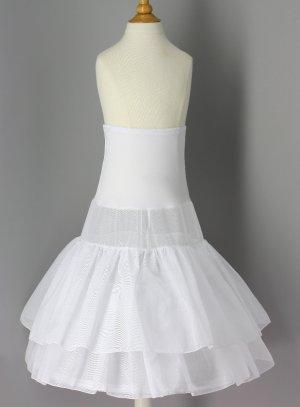 jupe et jupon fille blanc