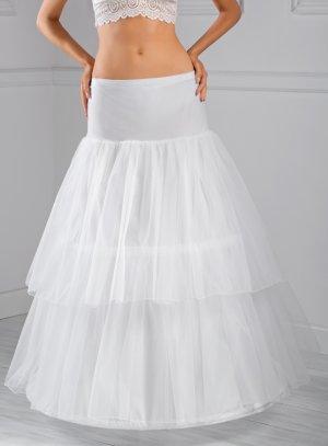 jupon mariage sissi tulle blanc