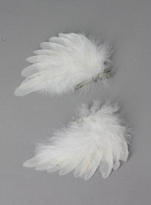 pince cheveux ange coiffure de baptême ange
