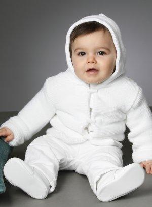 veste blanche bébé garçon manteau blanc baptême cérémonie