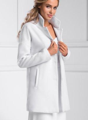 manteau mariage blanc