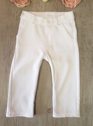 Pantalon blanc pour bébé ou petit garçon.