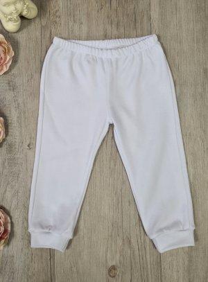 pnatalon coton blanc bébé