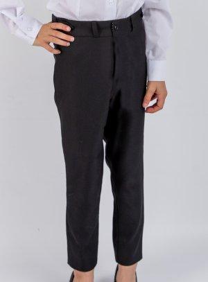 Pantalon fille noir pour soirée, cérémonie ou uniforme.