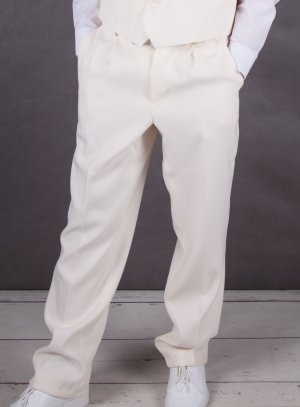 pantalon ivoire - ecru