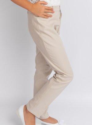 Pantalon lin beige fille top tendance pour un mariage