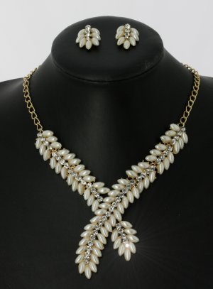 bijoux de soirée ivoire - ecru