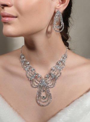 bijoux mariage gris argent
