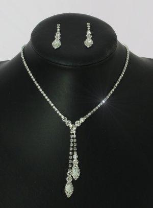 parure mariage blanc - bijoux de soirée pas cher