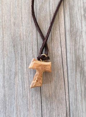 croix moderne bois d'olivier