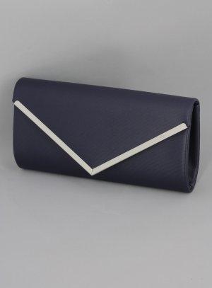 pochette soirée femme moderne bleu marine