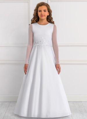 robe fille 2 - 16 ans blanc