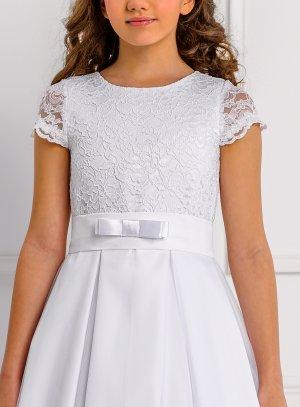 robe cérémonie fille blanc