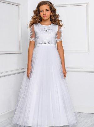 Robe mariage baptême communion fille collection Luxe modèle Victoria