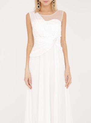 robe mariage femme longue blanc cassé ivoire