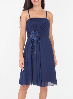 Robe de soirée bleu marine mariage jeune femme ou ado