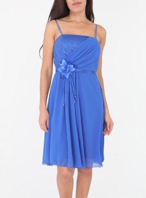 Robe de soirée bleu roy mariage jeune femme ou ado