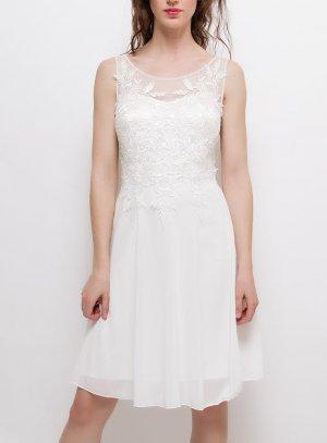 RobE mariage blanche pas chère pour mairée ou demoiselle d'honneur